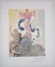 PICCARDA DONATI - SALVADOR DALI - Limited Edition Lithograph art litho print C/A