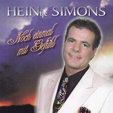 HEINtje SIMONS - CD - NOCH EINMAL MIT GEFÜHL