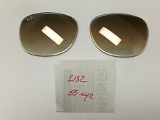 Ray Ban 2132 New Wayfarer Replacement Gradient Tint Lenses 55 Eye Size NEW