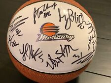 2018 PHOENIX MERCURY AUTOGRAPHED TEAM MINI BALL! DIANA TAURASI, BRITTNEY GRINER