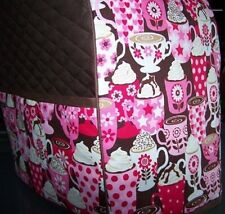 Hot Chocolate Drinks Quilted Cover for KitchenAid Mixer