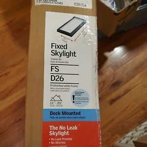 FS D26 2004-VELUX Fixed Deck Laminated Glass
