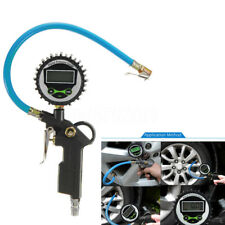 MANOMETRO MISURATORE LCD DIGITALE DI PRESSIONE ARIA GOMME PNEUMATICI AUTO