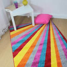 Brights Spark Multi Coloured Rug in 3 Sizes 160 X 225cm