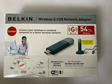 BELKIN Wireless G USB Adapter BNIB F5D7050UK 722868515907