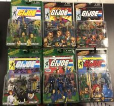 GI Joe ARAH Comic Set 18 figures Cobra Flint Scarlett MOC 6 Sealed Lot 2005