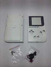 Carcasa de repuesto Gameboy Clasica DMG Nintendo Game Boy New white blanca NUEVA