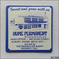 Hume Permanent Building Society Ltd 492 Olive St Albury 060215377 Coaster (B388)