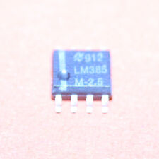 10 STK. LM385M-2,5 NSC VOLTAGE REFERENCE 2,5V SO-8 LM385M 10pcs.