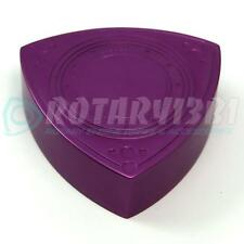 ROTOR SHAPED BRAKE / CLUTCH MASTER CYLINDER CAP COVER RX-7 RX7 13B 20B PURPLE