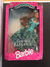 Emerald Elegance Black Barbie Doll 12323 Special Edition NRFB 1994  E37