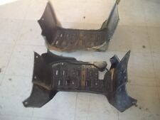 2003 YAMAHA GRIZZLY 660 4WD LEFT RIGHT FOOT WELLS FLOORBOARD PLASTIC HEEL GUARD
