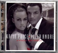CD - KATIE PRICE & PETER ANDRE - A  Whole new world