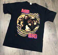 Vintage 1992 MR BIG Alive and Kickin T Shirt Large Mens Band Tee