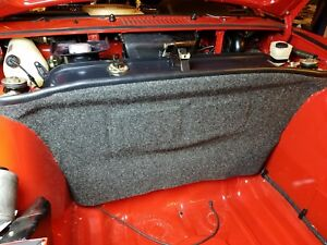 Porsche 914 Front Trunk Bulk Head Liner - Jet Black