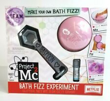 Project Mc2 Bath Fizz Experiment S.T.E.A.M. - Pink NETFLIX