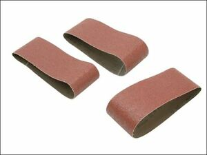 Black & Decker - Sanding Belts 75 x 533mm 40g (Pack of 3) - X33181