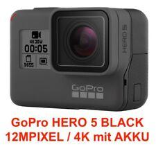 GoPro Hero 5 Black Action Kamera 12 Megapixel 4K Schwarz - Top Zustand
