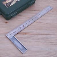 Anschlagwinkel 300 MM Winkelmesser 90 Grad Schreinerwinkel Anschlagwinkel Stahl