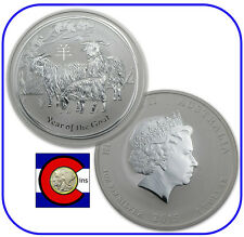 2015 Lunar Goat 1 oz Silver Coin, Series II from Perth Mint in Australia