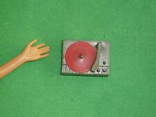Barbie vintage taglia accessori ~ per giocare o diorama ~ giradischi & Rosso Disco