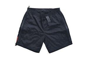 New With Tags NWT Mens PRADA Swimming Pants Trunks Sz MEDIUM Tg 48 UB322