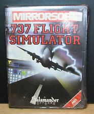 737 Flight Simulator-msx-Mirrorsoft 1984 Vintage NEW New Old Stock Sealed