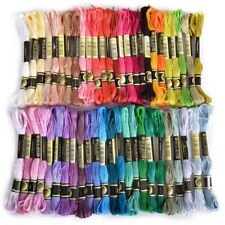 50pcs/set Cross Stitch Cotton Embroidery Thread Floss Sewing Skeins Craft