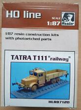 "Tatra T-111 ""Railway"" Zweiwegefahrzeug  - Hauler -  1:87 - Art.Nr. HLR87120"