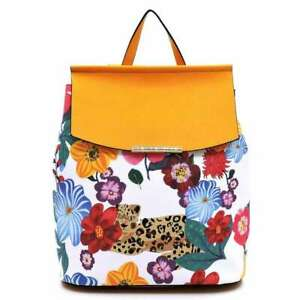Large Diaper Bag School  Backpack Convertible Flower Leopard