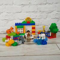 Lego Duplo 6136 My First Zoo Set Tiger Giraffe Polar Bear Elephant Building Toy