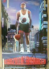 RARE CHARLES BARKLEY SUNS VS GODZILLA 1992 VINTAGE ORIGINAL NBA NIKE POSTER