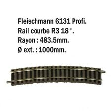 Petite rail courbe R3-HO-1/87-FLEISCHMANN 6131