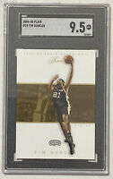 2004-05 Flair TIM DUNCAN #10 - Graded Card GMA 9.5 - PSA Spurs HOF 2020