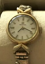 Beautiful Vintage (1966) Ladies Omega Gold Plated 17 Jewels Wristwatch - Working