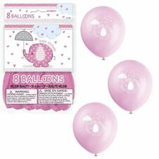 New Baby Less than 10 Oval Party Balloons