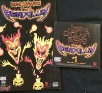 Insane Clown Posse - The Pendulum 1 Comic Book & CD set twiztid alt cover icp