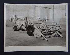 Photo ancienne BRAUD moissonneuse batteuse A2080 tractor tracteur Traktor 22