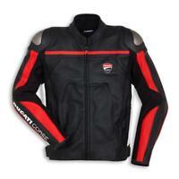 DUCATI Dainese CORSE C4 Lederjacke Jacke Leather Jacket perf. schwarz NEU %%%%