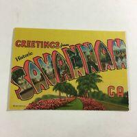 "VINTAGE 1930s Mini Photographs Souvenir Pictures 3.5X2""Savannah GA Greetings"