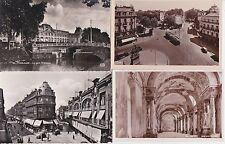Lot 4 cartes postales anciennes TOULOUSE