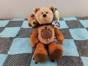 Limited Treasures Coin Bear Sacagawea & Pomp The Golden Dollar Bears 2001
