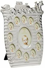 LEONARDO COLLECTION SILVER PLATED MY FIRST YEAR PHOTO FRAME