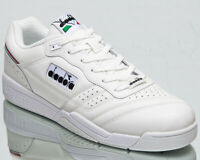 Diadora Action Men's White Black Low Athletic Casual Lifestyle Sneakers Shoes