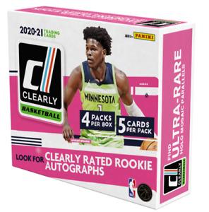 BOSTON CELTICS 2020-21 Clearly Donruss Basketball 12-Box Hobby Case #3 Break