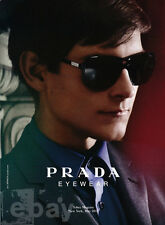 Toby Maguire 1-page clipping Nov 2011 ad for Prada Eyewear
