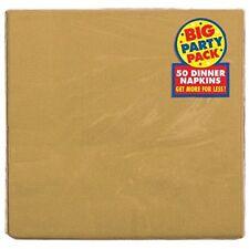 Art de la table de fête serviettes dorés anniversaires-enfants pour la maison