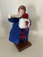 RARE Limited Edition Simpich Victorian Girl With Muff 1998