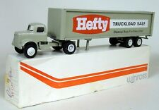 Winross USA Vintage Hefty Truckload Sale Big Rig Box Trailer Diecast Model Truck