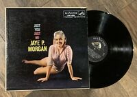 JAYE P. MORGAN Just You Just Me RCA VICTOR LP EX mono CHEESECAKE